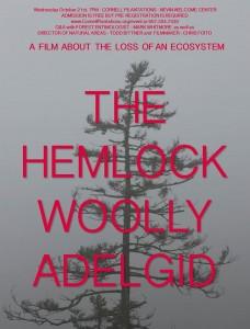 Hemlock woolly adelgid poster Cornell